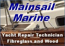 Yacht repair technician, expert in fibreglass and wood repairs of all sizes