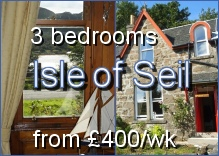 Tigh-na-Sith - 3 bedroomed house on the beautiful Isle of Seil